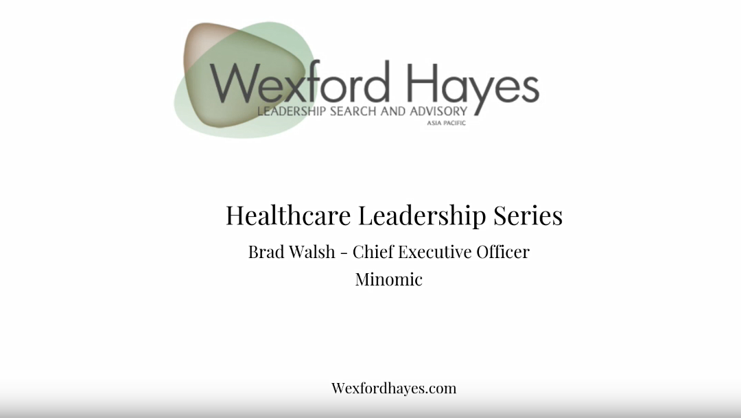 Healthcare Leadership Series: Interview with Brad Walsh