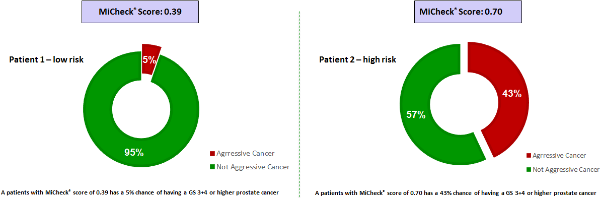 MiCheck patients report sample